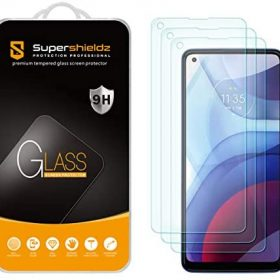 (3 Pack) Supershieldz Designed for Motorola Moto G Power (2021) [Not Fit for 2020 Version] Tempered Glass Screen Protector, Anti Scratch, Bubble Free
