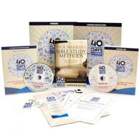 40 Days in the Word Campaign Resource Kit – With Workbooks and DVD