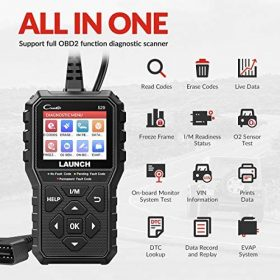 LAUNCH OBD2 Scanner -2021 Newest CR529 Enhanced Universal Car Code Reader Auto Diagnostic Scan Tool with Full OBDII Functions DTC Lookup Check Engine Light for All OBDII Car After 1996