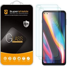 (2 Pack) Supershieldz Designed for Motorola (One 5G) and One 5G UW Tempered Glass Screen Protector, Anti Scratch, Bubble Free
