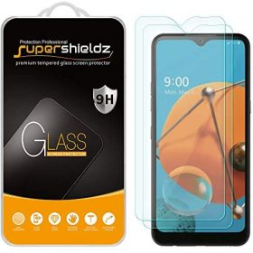 (2 Pack) Supershieldz Designed for LG K51 Tempered Glass Screen Protector, Anti Scratch, Bubble Free