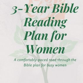 3-Year Bible Reading Plan for Women: Bible study journal with prompts & prayer journal with scripture for devotions (Bible Reading Plans)